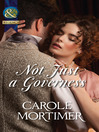 Not Just a Governess (eBook)