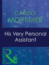 His Very Personal Assistant (eBook)