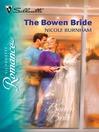 The Bowen Bride (eBook)