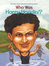 Who Was Harry Houdini? (eBook)