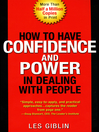 How to Have Confidence and Power in Dealing with People (eBook)