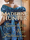 The Surrender of Miss Fairbourne (eBook): Fairbourne Quartet, Book 1