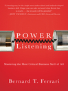 Power Listening (eBook): Mastering the Most Critical Business Skill of All