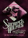The Sherlock Holmes Mysteries (eBook)