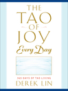 The Tao of Joy Every Day (eBook): 365 Days of Tao Living
