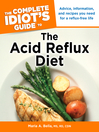 The Complete Idiot's Guide to the Acid Reflux Diet (eBook)