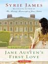 Jane Austen's First Love (eBook)