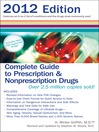 Complete Guide to Prescription & Nonprescription Drugs 2012 (eBook)