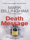 Death Message (eBook): Tom Thorne Series, Book 7