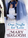 One Night for Love (eBook)