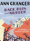 Rack, Ruin and Murder (eBook): Campbell and Carter Mystery Series, Book 2