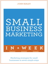 Small Business Marketing in a Week (eBook): Teach Yourself