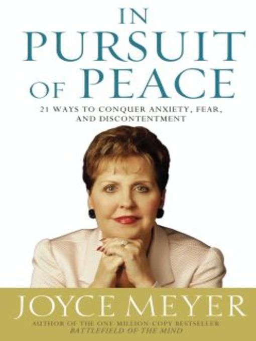 In Pursuit of Peace (eBook): 21 Ways to Conquer Anxiety, Fear, and Discontentment