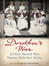 Dorothea's War (eBook): The Diaries of a First World War Nurse