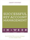 Successful Key Account Management in a Week (eBook)