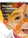 Equality and Inclusion in Early Childhood (eBook)