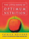 The Little Book of Optimum Nutrition (eBook)