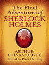 The Final Adventures of Sherlock Holmes (eBook)