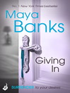 Giving In (eBook): Surrender Trilogy Book 2