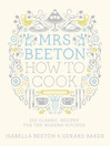 Mrs Beeton How to Cook (eBook)