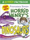 Dinosaurs (eBook): A Horrid Factbook