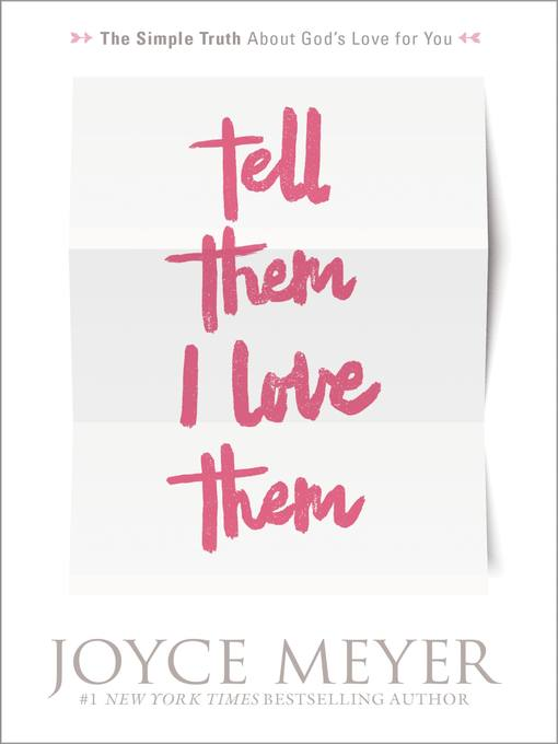 Tell Them I Love Them (eBook): Receiving a Revelation of God's Love for You