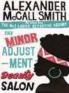 The Minor Adjustment Beauty Salon (eBook): The No. 1 Ladies' Detective Agency Series, Book 14