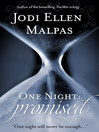 Promised (eBook): One Night Series, Book 1