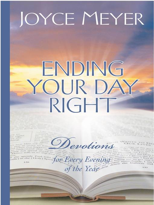 Ending Your Day Right (eBook): Devotions for Every Evening of the Year