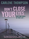 Don't Close Your Eyes (eBook)