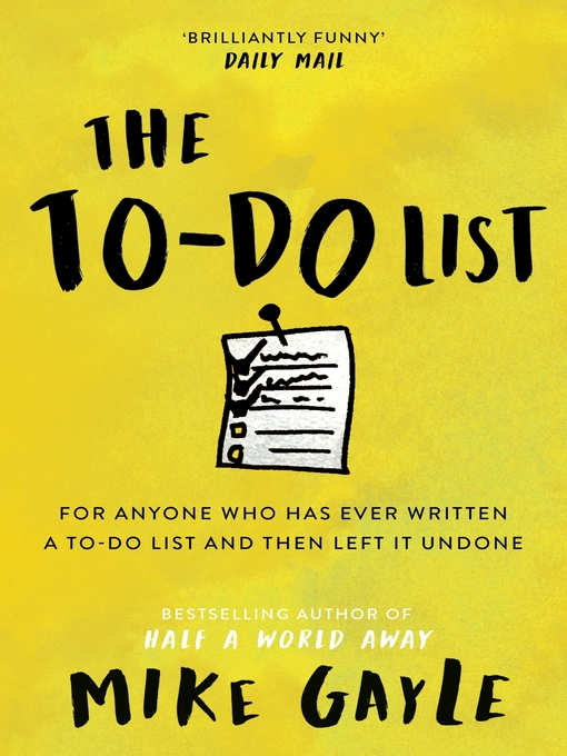 The To-Do List (eBook)