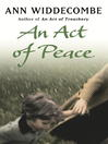 An Act of Peace (eBook): An Act of Series, Book 2