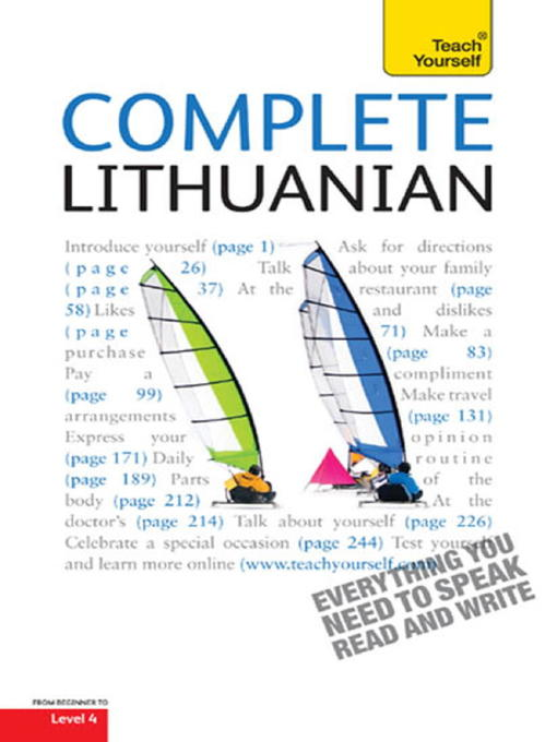 Complete Lithuanian (eBook)