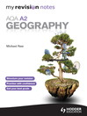 My Revision Notes (eBook): AQA A2 Geography