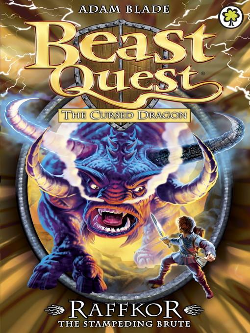 Raffkor the Stampeding Brute (eBook): Beast Quest: The Cursed Dragon Series, Book 1