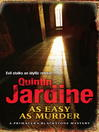 As Easy as Murder (eBook): Primavera Blackstone Series, Book 3
