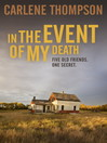 In the Event of My Death (eBook)