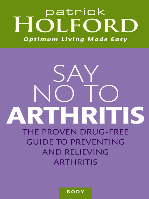 Say No to Arthritis (eBook)