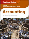 Cambridge International AS and a Level Accounting Revision Guide (eBook)