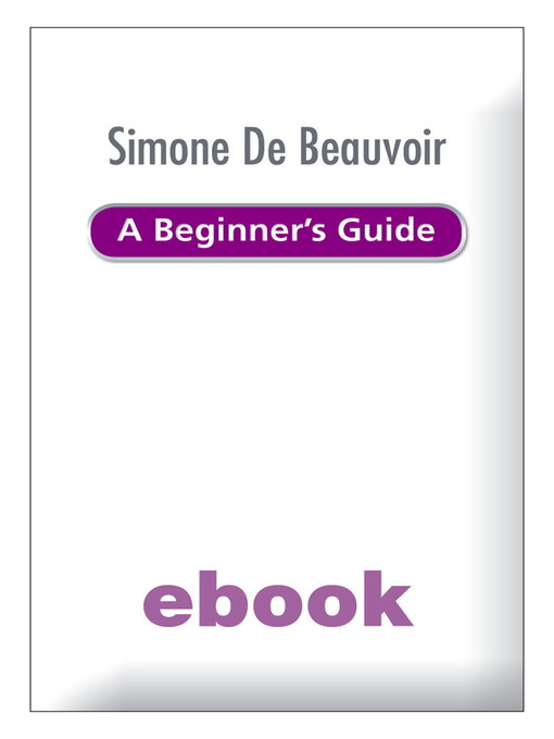 Simone de Beauvoir (eBook): A Beginner's Guide