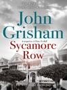 Sycamore Row (eBook): Jake Brigance Series, Book 2
