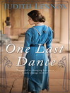 One Last Dance (eBook)