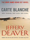 Carte Blanche (eBook)