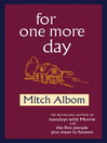 For One More Day (eBook)