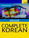 Complete Korean (Learn Korean with Teach Yourself) (eBook)