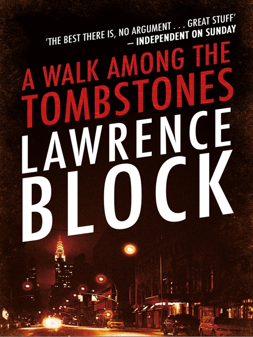 A Walk Among the Tombstones (eBook): Matthew Scudder Series, Book 10