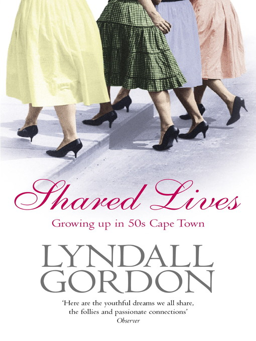 Shared Lives (eBook): Growing Up in 50s Cape Town