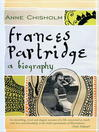 Frances Partridge (eBook): The Biography