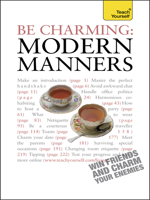 Be Charming (eBook): Modern Manners
