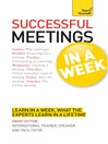 Successful Meetings in a Week (eBook)